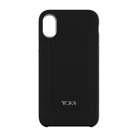 INCIPIO インシピオ iPhone XS/X TUMI LEATHER CO-MOLD CASE TUIPH-046-BLK ブラック