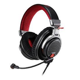 オーディオテクニカ audio-technica ATH-PDG1a ゲーミングヘッドセット グレー [φ3.5mmミニプラグ /両耳 /ヘッドバンドタイプ][ATHPDG1A]