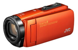 JVC ジェイブイシー GZ-RX690 ビデオカメラ EverioR(エブリオR) オレンジ [フルハイビジョン対応 /防水+防塵+耐衝撃][GZRX690D]