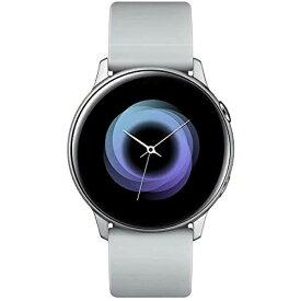SAMSUNG サムスン SM-R500NZSAXJP ウェアラブル端末 Galaxy Watch Active シルバー[SMR500NZSAXJP]