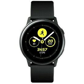 SAMSUNG サムスン SM-R500NZKAXJP ウェアラブル端末 Galaxy Watch Active ブラック[SMR500NZKAXJP]