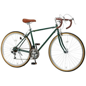 オオトモ OTOMO 700x28C ロードバイク Raychell RD-7021R(アイビーグリーン/21段変速)【組立商品につき返品不可】 【代金引換配送不可】