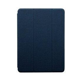 OWLTECH オウルテック iPad mini(第5世代 2019年モデル)対応ケース Apple pencilペン収納用ホルダー付き OWLCVIB7901NV ネイビー