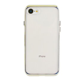 UI ユーアイ motomo INFINITY CLEAR ハードケース iPhone8/7 ゴールド
