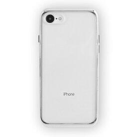 UI ユーアイ motomo INFINITY CLEAR ハードケース iPhone8/7 シルバー