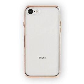 UI ユーアイ motomo INFINITY CLEAR ハードケース iPhone8/7 ローズゴールド