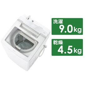 AQUA アクア AQW-GTW90H-W 縦型洗濯乾燥機 GTWシリーズ ホワイト [洗濯9.0kg /乾燥4.5kg /ヒーター乾燥(排気タイプ) /上開き]