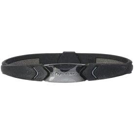ファイテン PHITEN RAKUWA ブレスS プレートタイプ(メタリックブラック/18cm) 0317TG735026