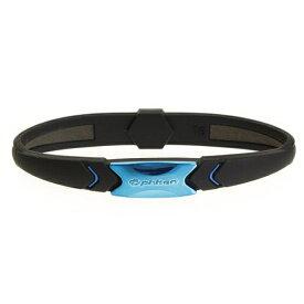 ファイテン PHITEN RAKUWA ブレスS プレートタイプ(メタリックブルー/16cm) 0317TG735425