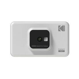 コダック Kodak インスタントカメラプリンター C210 ホワイト[スマホ対応 プリンタ C210WH]