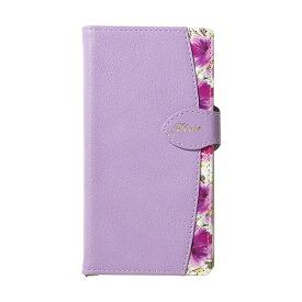 ナチュラルデザイン NATURAL design iPhone8/7/6s/6兼用手帳型ケース FLEUR Purple iP876-FLE09