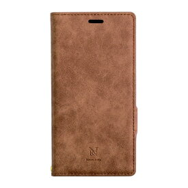 ナチュラルデザイン NATURAL design Xperia XZ2専用手帳型ケース Style Natural Camel XZ2-VS04