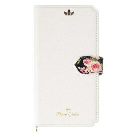 ナチュラルデザイン NATURAL design iPhone8/7/6s/6兼用手帳型ケース Flower Garden White iP7-FG03
