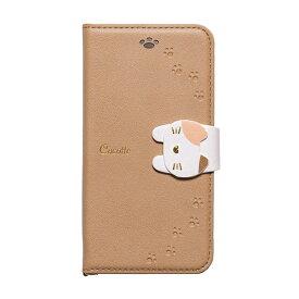 ナチュラルデザイン NATURAL design iPhone8/7/6s/6兼用手帳型ケース Cocotte Beige iP7-COT05