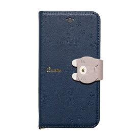 ナチュラルデザイン NATURAL design iPhone8/7/6s/6兼用手帳型ケース Cocotte Navy iP7-COT06