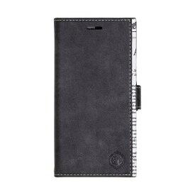 ナチュラルデザイン NATURAL design iPhoneXR専用手帳型ケース GOAT BLACK iP18_61-GOAT01