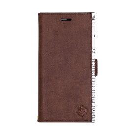 ナチュラルデザイン NATURAL design iPhoneXR専用手帳型ケース GOAT BROWN iP18_61-GOAT05