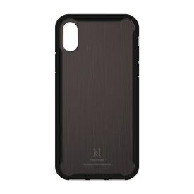ナチュラルデザイン NATURAL design iPhoneXS/X専用衝撃吸収背面ケース HYBRID PERFORMANCE BLACK iP18_58-HYP06
