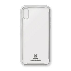 ナチュラルデザイン NATURAL design iPhoneXS/X専用衝撃吸収背面ケース HYBRID PERFORMANCE CLEAR iP18_58-HYP10