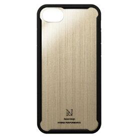 ナチュラルデザイン NATURAL design iPhone8/7/6s/6兼用衝撃吸収背面ケース HYBRID PERFORMANCE GOLD iP7-HYP08