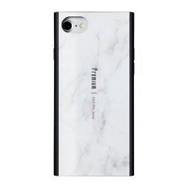 ナチュラルデザイン NATURAL design iPhone8/7/6s/6兼用背面ケース Premium Marble White iP7-PREIS01