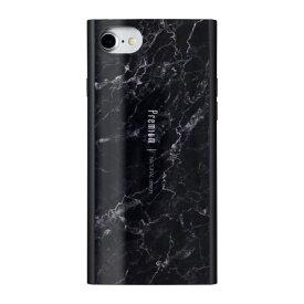 ナチュラルデザイン NATURAL design iPhone8/7/6s/6兼用背面ケース Premium Marble Black iP7-PREIS02