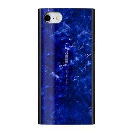ナチュラルデザイン NATURAL design iPhone8/7/6s/6兼用背面ケース Premium Marble Navy iP7-PREIS03