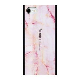 ナチュラルデザイン NATURAL design iPhone8/7/6s/6兼用背面ケース Premium Marble Pink iP7-PREIS04