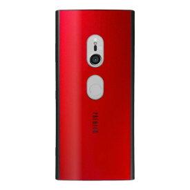 ナチュラルデザイン NATURAL design Xperia XZ3専用背面ケース Premium Red XZ3-PRE04