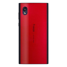 ナチュラルデザイン NATURAL design AQUOS sense2専用背面ケース Premium Red AQS2-PRE04