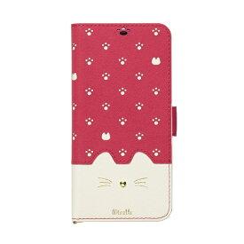 ナチュラルデザイン NATURAL design AQUOS sense2専用手帳型ケース Minette Vivid Pink AQS2-MIN05
