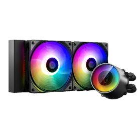 DEEPCOOL ディープクール CASTLE 240RGB V2 DP-GS-H12AR-CSL240V2[DPGSH12ARCSL240V2]