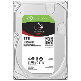 SEAGATE シーゲート 内蔵HDD NASドライブ ST8000VN004[ST8000VN004]【バルク品】