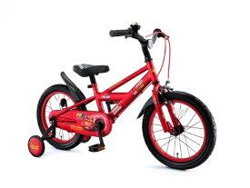 アイデス ides 16型 子供用自転車 カーズ3自転車 16インチ(レッド/ライトニング・マックィーン) 0266【組立商品につき返品不可】 【代金引換配送不可】