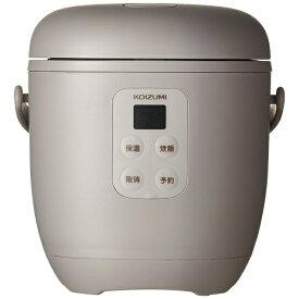 コイズミ KOIZUMI KSC-1513-C 炊飯器 ライスクッカーミニ ベージュ [1.5合 /マイコン][KSC1513C]
