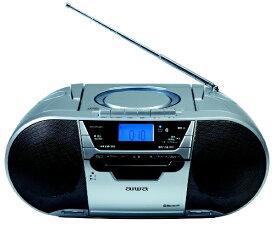 aiwa アイワ CSD-MV20B CDラジオカセットレコーダー [Bluetooth対応 /ワイドFM対応 /CDラジカセ][ラジカセ cd プレーヤー CSDMV20B]
