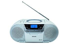 aiwa アイワ CDラジオ CR-BUE50 [Bluetooth対応 /ワイドFM対応][CRBUE50]