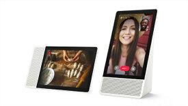 レノボジャパン Lenovo スマートスピーカー Lenovo Smart Display M10 ZA4T0001JP [Bluetooth対応 /Wi-Fi対応][ZA4T0001JP]