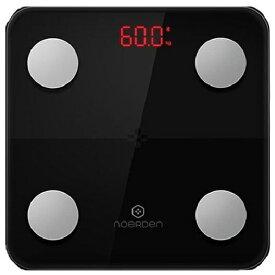 NOERDEN ノエルデン MINIMI Smart Body Scale Black ブラック PNS0001 [スマホ管理機能あり][PNS0001]