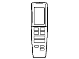 パナソニック Panasonic 純正エアコン用リモコン CWA75C3421X[CWA75C3421X] panasonic