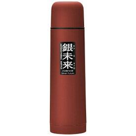 フォーエバー FOREVER 抗菌ステンレス真空ボトル ワンプッシュ形 500ml 銀未来 レッド GMPB-048R[GMPB048R]