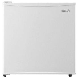 アイリスオーヤマ IRIS OHYAMA 《基本設置料金セット》KRSD-5AL-W 冷蔵庫 ホワイト [1ドア /左開きタイプ /45L][冷蔵庫 小型 KRSD5ALW]【zero_emi】