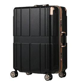 レジェンドウォーカー LEGEND WALKER スーツケース 75L SHIELD 2(シールド2) ブラック 6027-60-BK [TSAロック搭載]