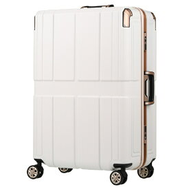 レジェンドウォーカー LEGEND WALKER スーツケース 75L SHIELD 2(シールド2) ホワイト 6027-60-WH [TSAロック搭載]