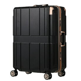 レジェンドウォーカー LEGEND WALKER スーツケース 90L SHIELD 2(シールド2) ブラック 6027-66-BK [TSAロック搭載]
