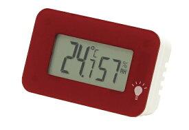 エンペックス EMPEX INSTRUMENTS デジタル温湿度計 シュクレ・イルミー TD-8338 TD-8338 ワインレッド [デジタル][TD8338]
