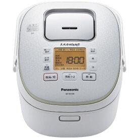 パナソニック Panasonic SR-HX109-W 炊飯器 大火力おどり炊き ホワイト [5.5合 /IH][SRHX109]
