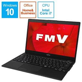 富士通 FUJITSU FMVUXD2B ノートパソコン LIFEBOOK UH-X/D2 ピクトブラック [13.3型 /intel Core i7 /SSD:512GB /メモリ:8GB /2019年夏モデル][13.3インチ office付き 新品 windows10 FMVUXD2B]