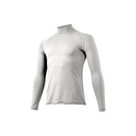 ミズノ mizuno 男女兼用 野球用アンダーシャツ ハイネック 長袖シャツ ゼロプラス(Lサイズ/ホワイト) 12JA5P11