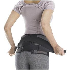 ミズノ mizuno ワーキング用品 サポーター 腰部骨盤ベルト(骨盤周囲: LLサイズ/95〜115cm/ブラック×グレー/ワイドタイプ・補助ベルト付き)C3JKB50205